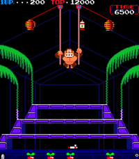 Donkey Kong 3 released in the arcades