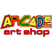 Olly's Arcade Art Shop