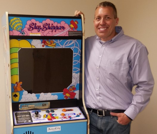 The only known Sky Skipper arcade game is found!